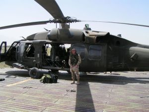 Blackhawk helicopter Afghanistan Military